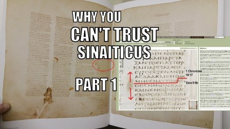 1 Chronicles 19 17 to Ezra 9 9 Sinaiticus